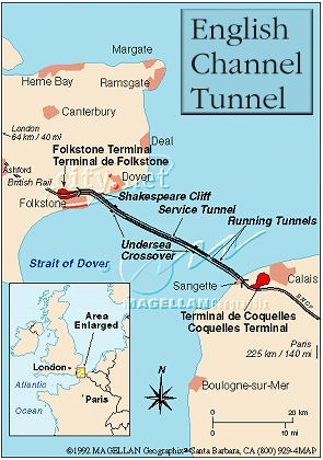 Kmhouseindia English Channel Tunnel Opened May 06 1994